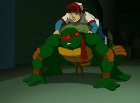 Teenage Mutant Ninja Turtles – Raphael En Zijn Welp (2/2)