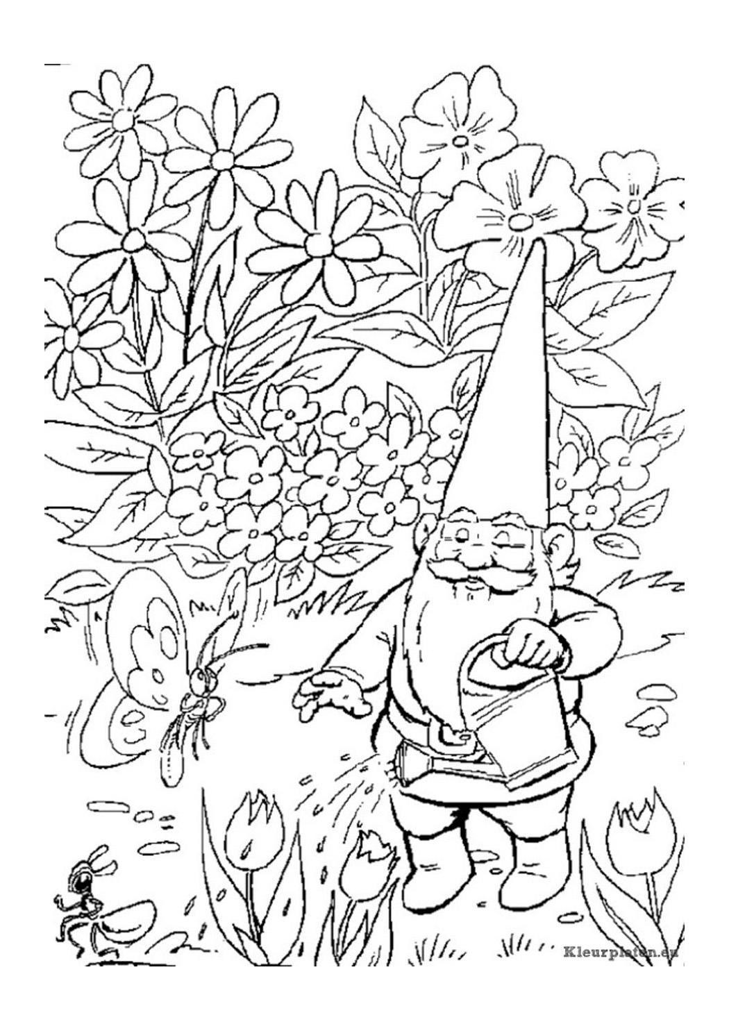 Volwassen Kleurplater Konijn Kleurplaat Tuinman Verjaardag Kleurplaat Koningsspelen