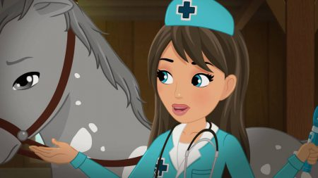 LEGO® Friends – Hoe Genees Je Een Paard
