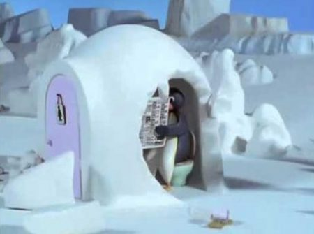 Pingu – En De Sneeuwbal