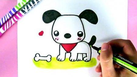 Hoe Teken Je – Een Puppy