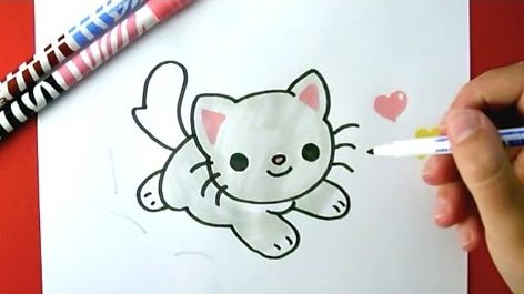 Hoe Teken Je – Een Kitten
