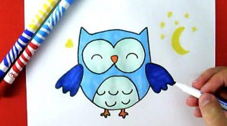 Hoe Teken Je – Een Uil