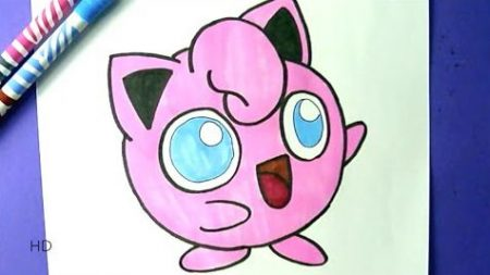 Hoe Teken Je – Jigglypuff (Pokemon)