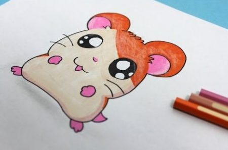Hoe Teken Je – Een Hamster