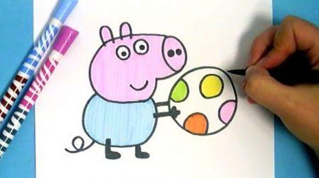 Hoe Teken Je – Peppa Pig