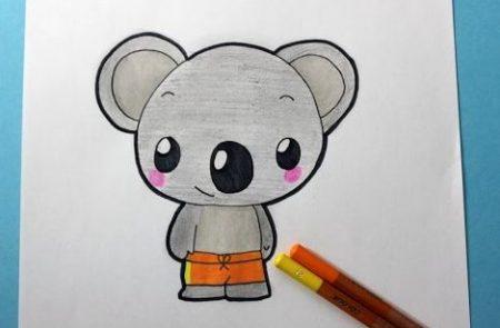 Hoe Teken Je – Een Koala