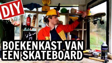 De Buitendienst – Boekenplank Van Een Skateboard