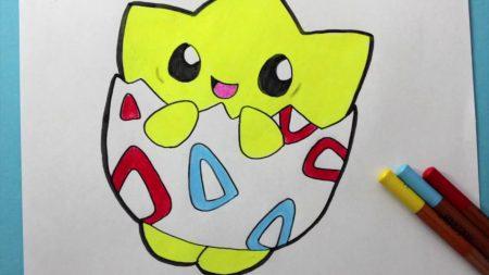 Hoe Teken Je – Togepi (Pokemon)