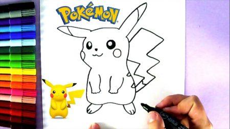 Hoe Teken Je – Pikachu (Pokemon)