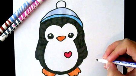 Hoe Teken Je – Een Pinguin