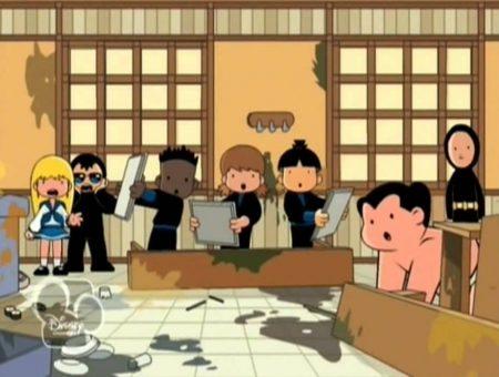 Shuriken School – De Vuilnisgeest En Mevrouw Netjes (Aflevering 10)