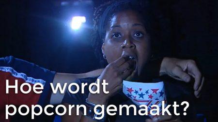 Het Klokhuis – Hoe Wordt Popcorn Gemaakt?