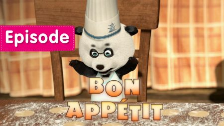 Masha en de Beer – Bon appétit!
