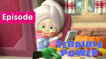 Masha en de Beer – Terrible Power!