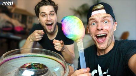Enzo Knol – DIY Grootste Suikerspin Ooit?! – Vlog #1411
