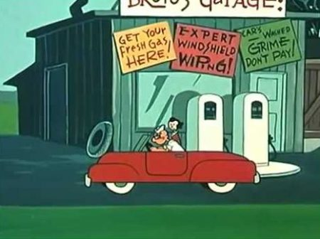 Popeye – Motor Knocks
