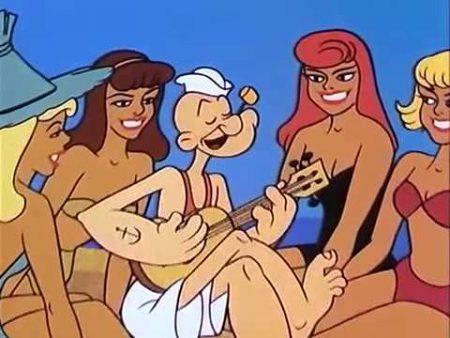 Popeye – Popeye The Lifeguard