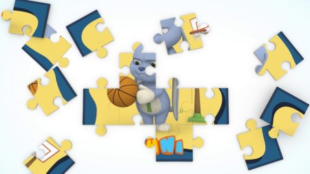 NuNi – Basketball Puzzel