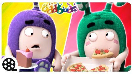 Oddbods – Voedsel Gevecht