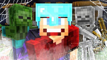 Enzo Knol – Gevaarlijke Monsters In De Villa! – Minecraft Survival #270