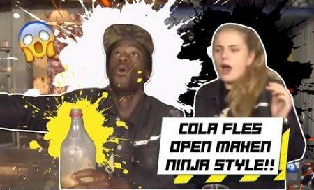 Checkpoint – Cola Open Maken Ninja Style!