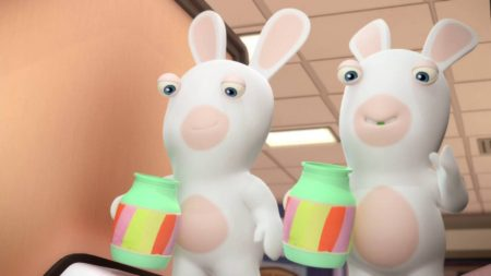 Rabbids Invasion – Escalator Rabbid