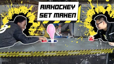 Checkpoint – Airhockey Voor Thuis In Je Huis