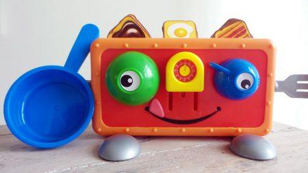 Tommie Toaster Kinderspel – Uitpakken en Spelen