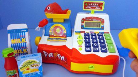 Speelgoed Winkel Kassa – Uitpakken en Spelen