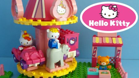 Hello Kitty Draaimolen – Uitpakken en Spelen