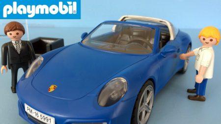 Porsche 911 Playmobil Speelgoed Auto 5991 – Uitpakken en Spelen