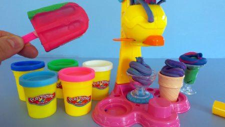 Play-Doh IJsmachine – Uitpakken en Spelen