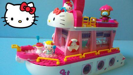 Hello Kitty Cruise Schip LEGO Mega Bloks 10930 – Uitpakken en Spelen