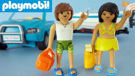 Playmobil Auto Met Boot 6864 – Uitpakken en Spelen