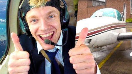 Enzo Knol – Een Dag Door Het Leven Als Piloot!