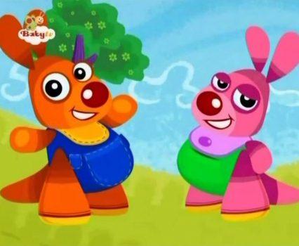 Kenny en Goorie – Aap Met Sinaasappels