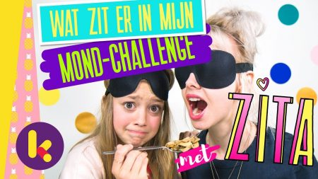 Zita – Wat Zit Er In Mijn Mond Challenge