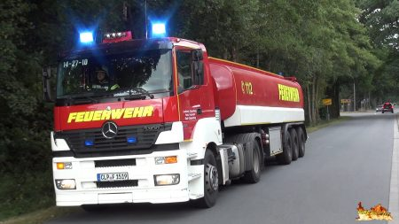 Hulpdiensten – GTLF 30.000 zu Großeinsatz