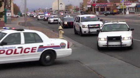 Hulpdiensten – Albuquerque Police Department, BCSO Convoy