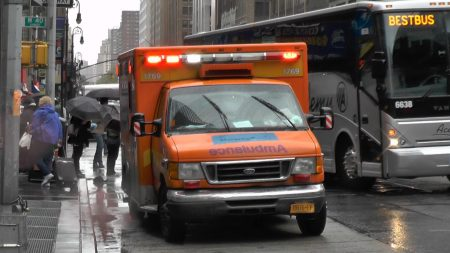 Hulpdiensten – New York City Ambulances