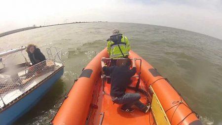 Hulpdiensten – Waterongeval, Uitruk Reddingboot Seeker