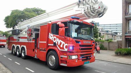 Brandweerauto Parade