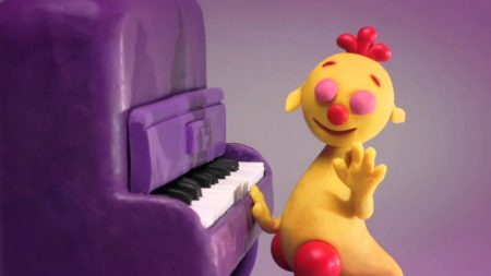 ClayPlay – Piano (Play-Doh)