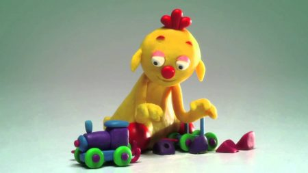 ClayPlay – Trein (Play-Doh)