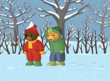 Beertje Bruin – Maakt Sneeuwballen