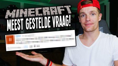 Enzo Knol – Antwoord Geven Op Meest Gestelde Minecraft Vraag!