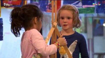 Kindertijd – Puk En Flor Gaan Schilderen