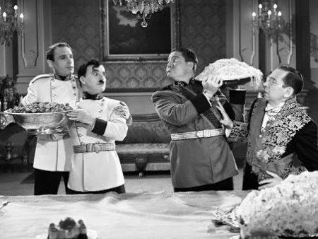 Charlie Chaplin – Voedsel Gevecht