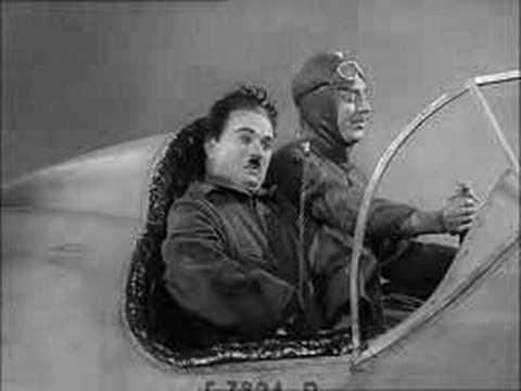 Charlie Chaplin – In Een Vliegtuig